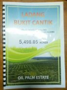Kluang Kahang Bukit Cantik 5498 arces Palm Oil Land for SALE