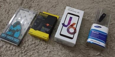 New SAMSUNG Galaxy J6 2018 Ori MY Set 3GB 32GB