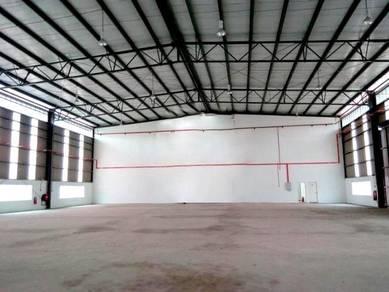 (1.5 Storey Semi-D Factory) AMPANG Taman Industri Bukit Permai Cheras