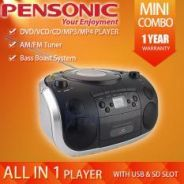 Pensonic PCD-901 DVD/VCD/ CD/MP3/MP4 Player-NEW