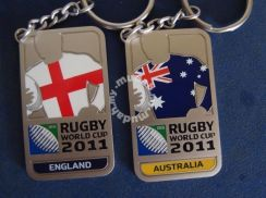 Rugby World Cup Jersey Key Ring Collection - 2011