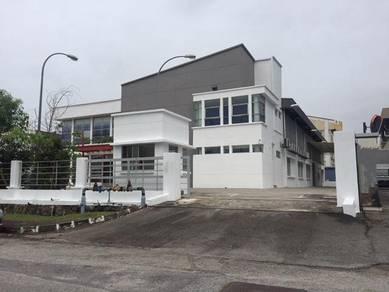 Taman Industri Pusat Bandar Puchong 3 storey Bungalow Factory