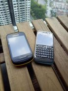 Nokia E71 & Samsung Colby2