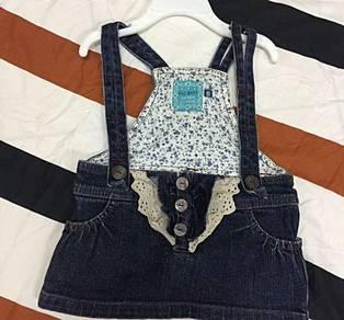 Rag Mart denim skirt with straps
