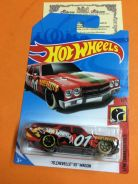 HW - 70 CHEVELLE SS WAGoN 1/5