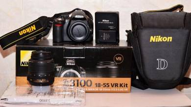 Nikon d3100 fullset