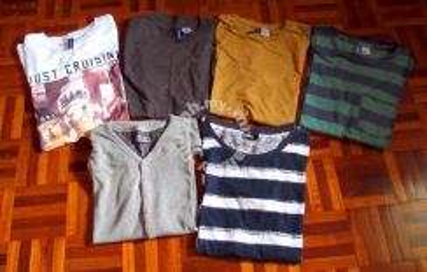 H & M Tee Shirts - LOT 6 Pcs