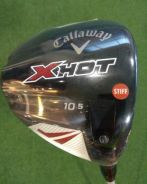 New Callaway X Hot Driver 10.5* S-flex RH