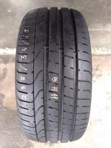 Tayar 235/35/Rim 19 Pirelli Pzero.99%
