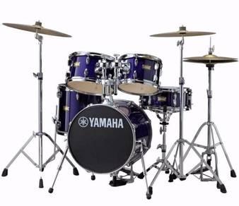 Yamaha manu katche 5 piece kit with hardware