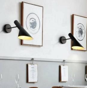 Wall Lamp ( Matte Black ) / Lampu Dinding