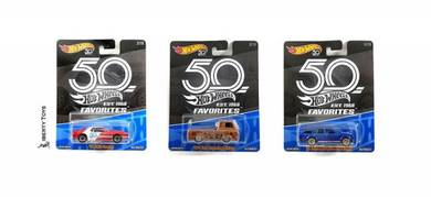 Hotwheels 2018 50th Anni #FLF35-956A Set Of 3pcs