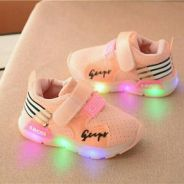 Toddler Sport Shoes With Light