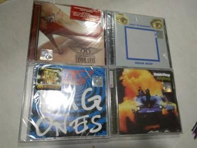 Aerosmith and utiah heep cd SRAL NOS ori