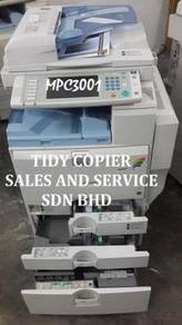Mpc 3001 Machine color Hot item at Tidy Copier