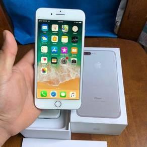 Iphone 7Plus Silver 32GB fullset