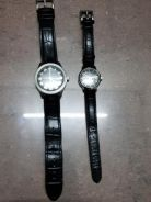 Sovil Titus couple watch