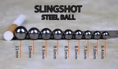 Slingshot Steel Ball 1KG 2KG 3KG Bearing Lastik