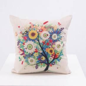Flower pillow cushion bantal sarung chair sofa