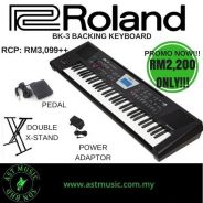 Roland BK-3 bk3 Backing Keyboard (PROMOTION)