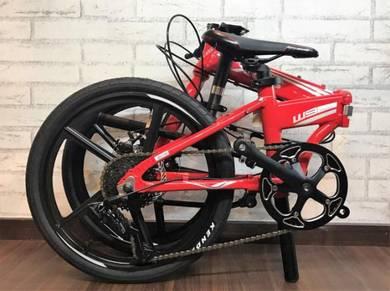 2018 XDS W9 8 SPEED FOLDING Bike Bicycle BASIKAL