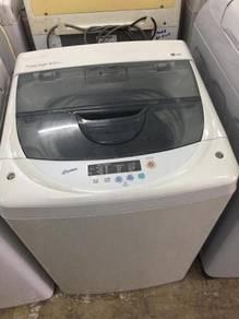 6.5kg lg washing machine top mesin basuh big