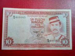 SA-PULOH RINGGIT Brunei-A/13 019165 (2nd.Series)