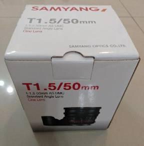 Samyang 50mm T1.5 AS UMC Canon Mount