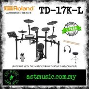 New Roland V-Drums TD17KL td17kl Package