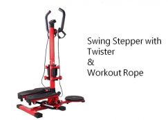 360 Swing Super Stepper Twister With Workout Rope