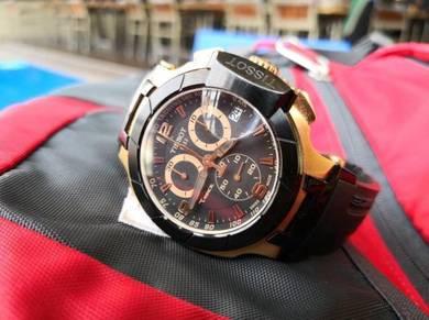 Jam Tissot T-Race Chrono Black Gold