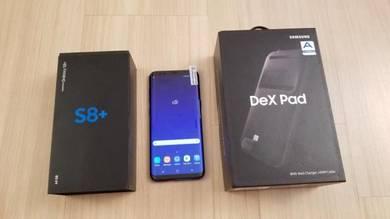 Samsung S8+ Piano Balck - with Dex Pad