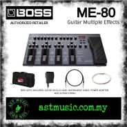 Boss ME-80 me80 Guitar Multiple Effects Pedal Pack