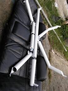 Custom made bar k bar rollcage