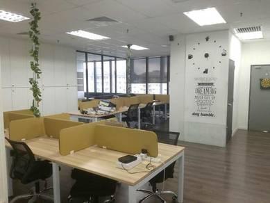 Fully furnished office-menara suezcap kl gateway bangsar south