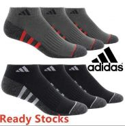 3 PAIRS Adidas Cushioned Ankle Socks Authentic
