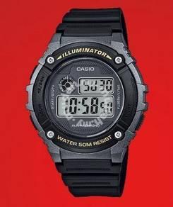 Watch - Casio W216-1B - ORIGINAL