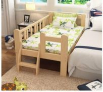 Easel Wooden Baby Bed Baby Cot
