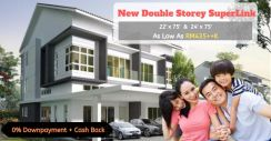 The Most Affordable Luxury Double Storey SuperLink Seremban