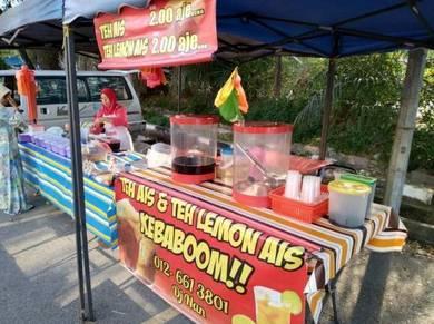 Teh ais kebaboom bandar tasik puteri rawang