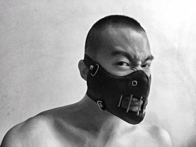 Leather Scary Toy Dark Mask