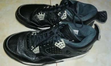 Nike air jordan 4 retro oreo