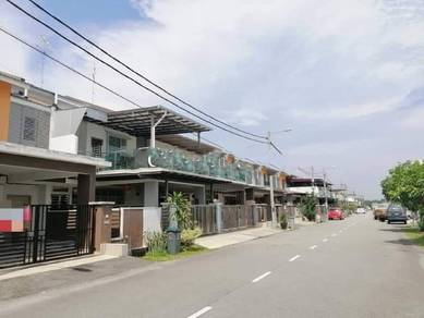 Brand New Double Storey Terrace Corner Lot Taman Evergreen Height