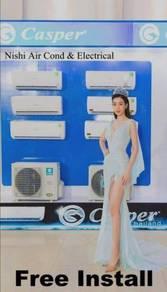 Casper Latest 1hp Inverter Aircond