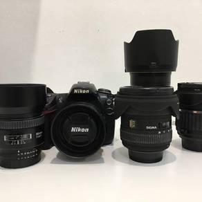 Nikon D300s and Lens