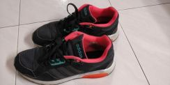 Adidas NEO Label Black Training Shoes Size UK10.5