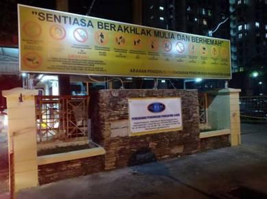 Pangsapuri Ilham { FREEHOLD PROPERTY } Taman TTDI Jaya Shah Alam U2