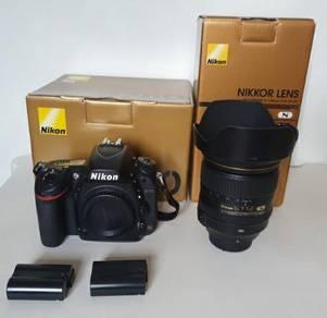 NIKON D750 Full Frame DSLR & NIKKOR 24-120 mm f4