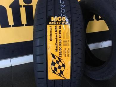 Tyre Continental MC6 235 50 18