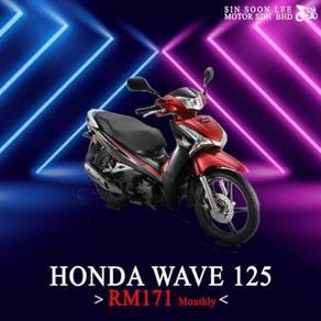 Ready stock honda wave 125i promo merdeka